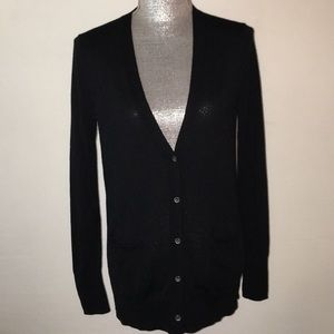 Black cardigan gap sweater